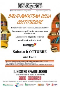 locandina bibliodays 2018